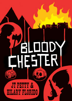 bloody Chester comic book cover
