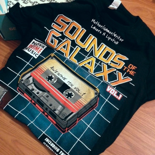 Sounds of the Galaxy T-Shirt  Nerd block September 2014
