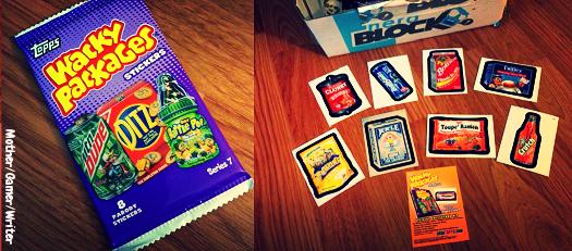 nerd block Topps Wacky Packages - Stickers Series 7