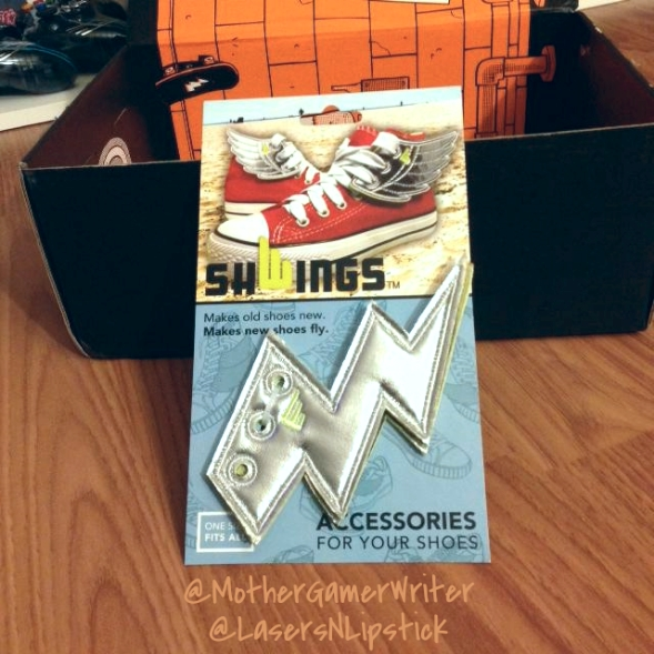 loot crate august 2014 shoe wings