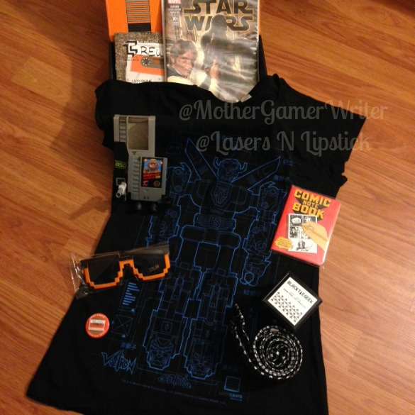 loot crate jan 2015 all unboxed