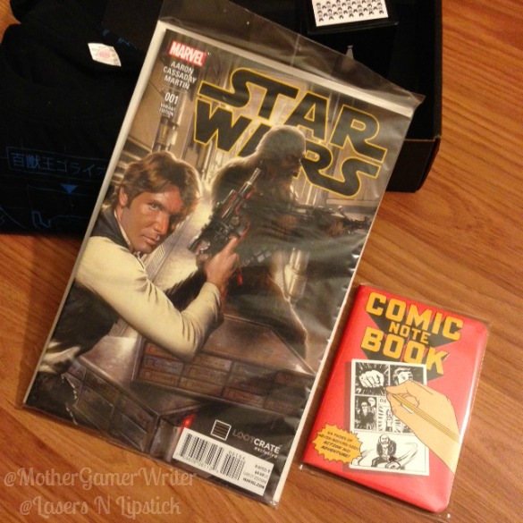 loot crate jan 2015 - star wars comic