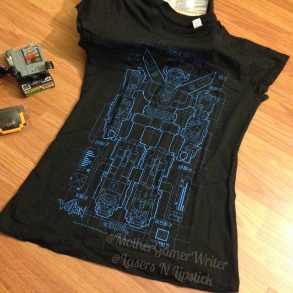 loot crate jan 2015 - voltron t-shirt