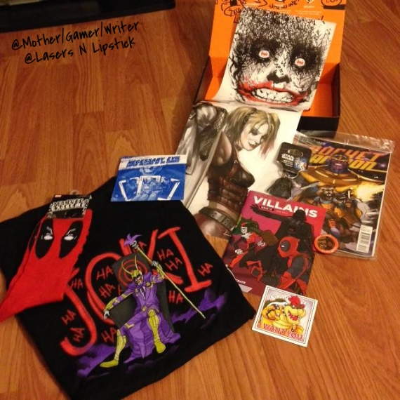 loot crate july all items