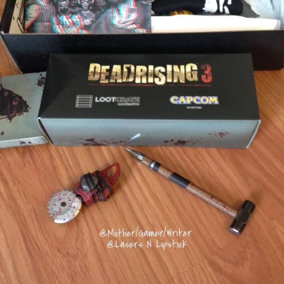 loot crate october 2014 dead rising 3 pen