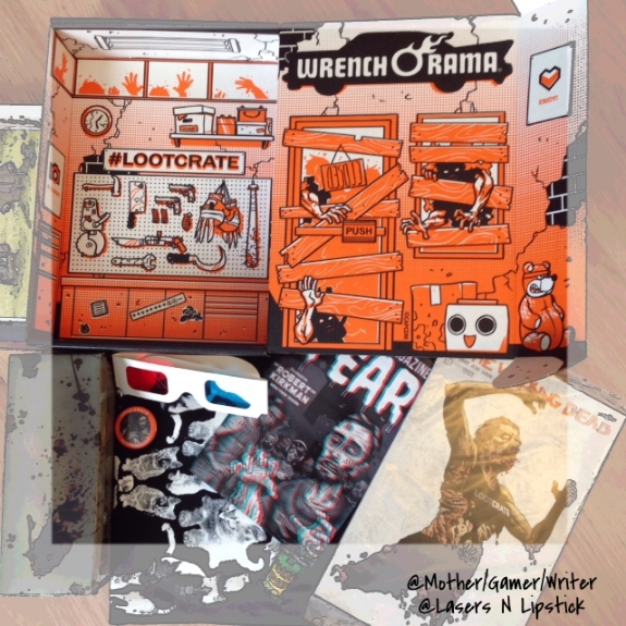 loot crate october 2014 inside the box