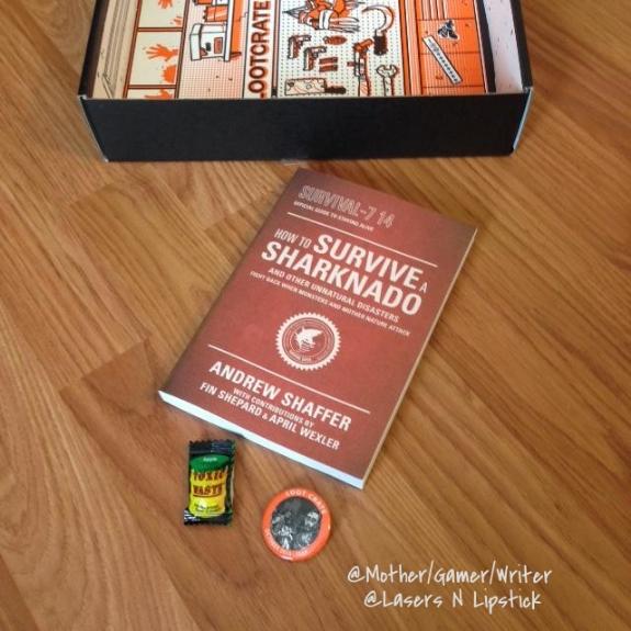 loot crate october 2014 sharknado book