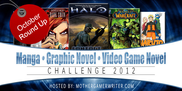 Manga/Graphic Novel/Video Game Novel Challenge: October Link-Up & Giveaway