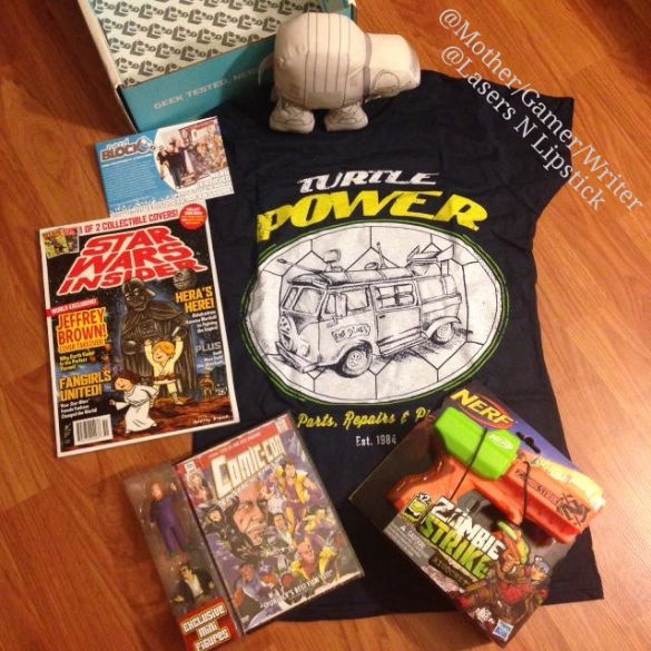 nerdblock july 2014 all items unboxed