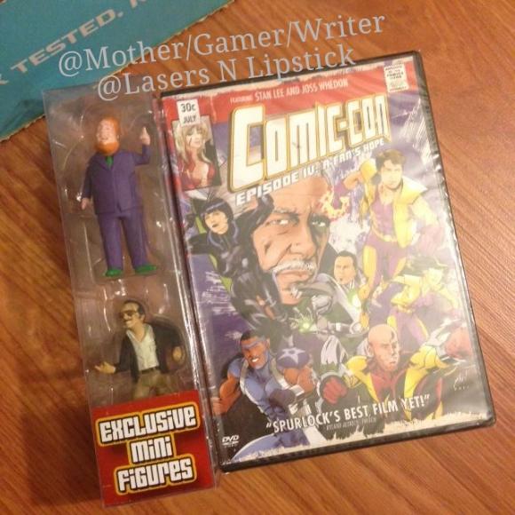 nerdblock july 2014 comic con dvd