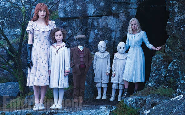Tim Burton's Miss Peregrine Shares New Images and Character Changes