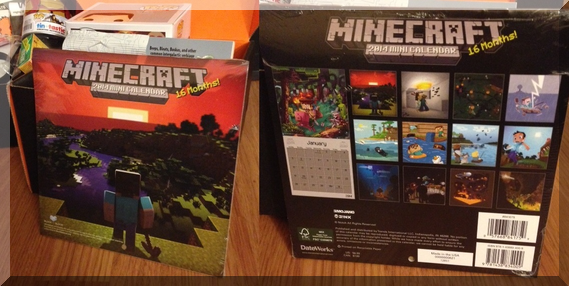 loot crate january minecraft calendar