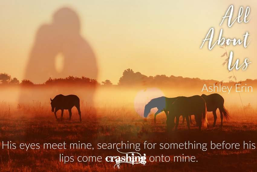 Cover Reveal, Exclusive Excerpt & Giveaway!  | ALL ABOUT US by Ashley Erin
