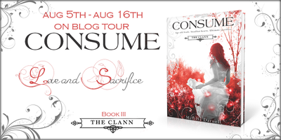 Interview: Consume (The Clann #3) by Melissa Darnell