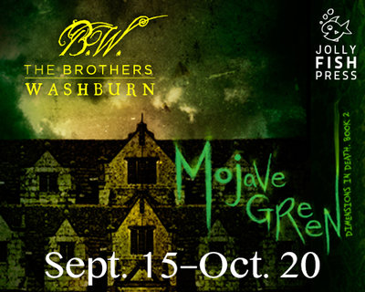 """Creating Haunting Thrillers in True-to-Life Stories"" & Giveaway With The Brothers Washburn"