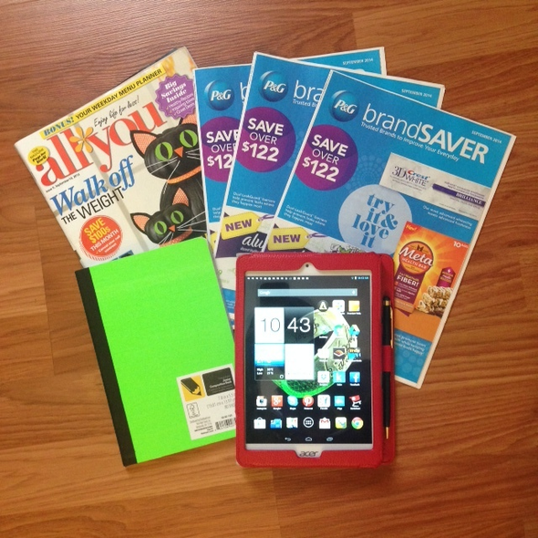 Let's Coupon: Couponing With My Tablet & 5 Month Check In! #TabletCrew