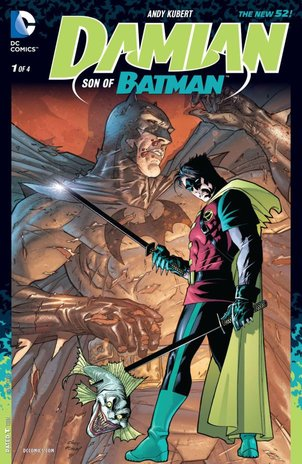 Graphic Novel Review: Damian: Son of Batman by Andy Kubert