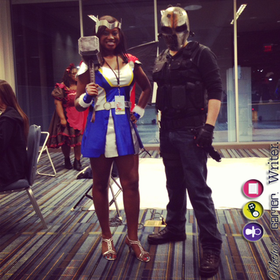 army of two cosplay and thor