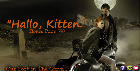one foot in the grave banner 1