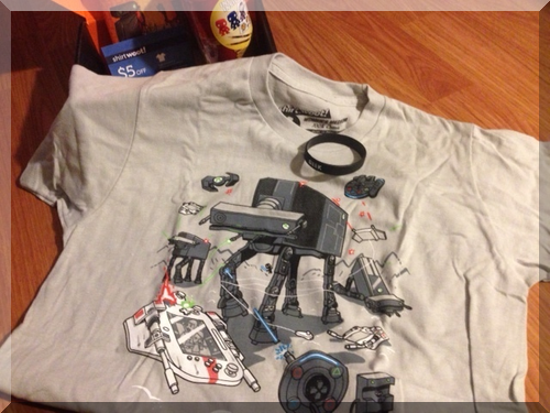 loot crate t-shirt december 2013