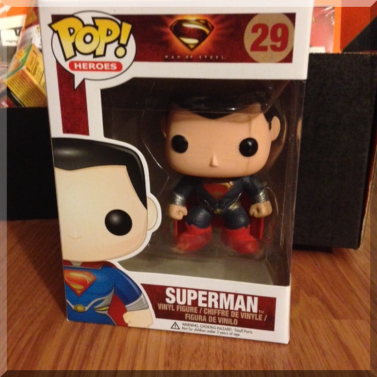 loot crate january superman funko POP toy