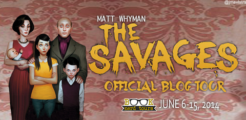 Giveaway, Random Facts and Review of The Savages by Matt Whyman