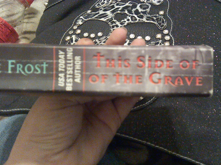 book spine this side of grave