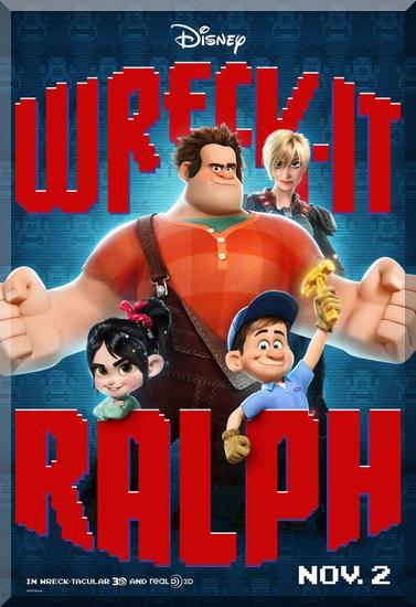 wreck it ralph char poster