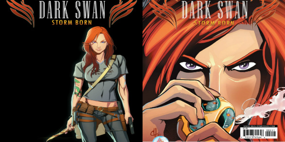 Graphic Novel Review | Dark Swan, Storm Born (#1-2) by Richelle Mead