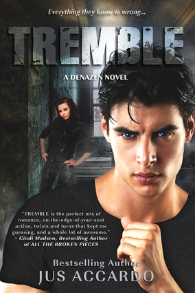 Review: Tremble (Denazen #3) by Jus Accardo and Bonus Preview of Darker Days!