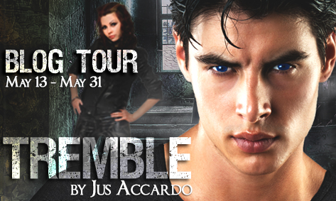 tremble blog tour banner